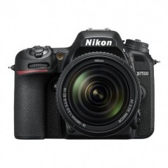 Nikon D7500 20.9MP DSLR Camera with AF-S DX NIKKOR 18-140mm f/3.5-5.6G ED VR