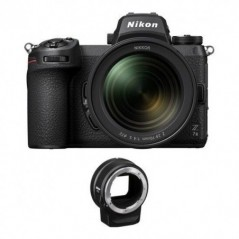 Nikon Z 7II Mirrorless Digital Camera with 24-70mm f/4 Lens and FTZ Adapter Kit