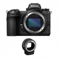Nikon Z 6II Mirrorless Digital Camera Body with FTZ Adapter Kit