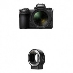 Nikon Z7 FX-Format Mirrorless Camera and 24-70mm f/4 S Kit with Mount Adapter