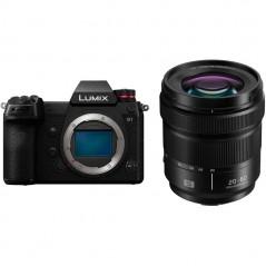 Panasonic Lumix DC-S1KE-K Mirrorless Digital Camera with 20-60mm Lens